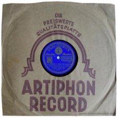 Discos de pizarra: ORQUESTA HARRY ROY - LA MUSICA DA VUELTAS - PARLOPHON B.26.814-I. Lote 40174444