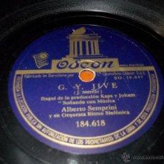 Dischi in gommalacca: DISCO ODEON BENDIGO EL MOMENTO. Lote 40342004