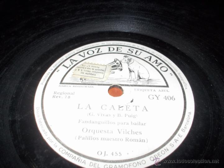 Discos de pizarra: La caleta disco la voz de su amo - Foto 2 - 40342063
