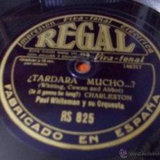 Discos de pizarra: DISCO REGAL MAMITA JAPONESA. Lote 40342317