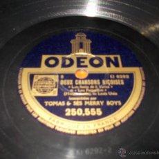 Discos de pizarra: DISCO ODEON NISSA LA BELLA. Lote 40342416