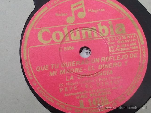 PEPE EL PINTO CON NIÑO RICARDO PARA MIS PENAS EL DINERO Y LA MUJER SILENCIO QUE TU QUIERAS UN REF (Música - Discos - Pizarra - Jazz, Blues, R&B, Soul y Gospel)