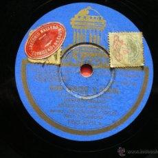 Discos de pizarra: PIZARRA ENRIQUE SERRANO / CON CHUZO Y FAROL - ANDRES 183-279 PEPETO. Lote 41341993
