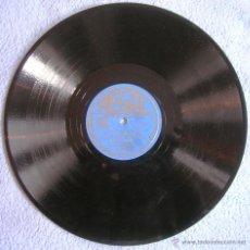 Discos de pizarra: DISCO 78 RPM PIZARRA REGAL. CARROLL GIBBONS & THE SAVOY HOTEL ORPHEANS - SOLO MIA - TU SOLO.. Lote 41356985