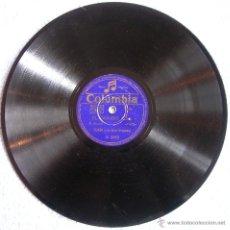 Discos de pizarra: DISCO 78 RPM PIZARRA.VALS STRAUSS: EL DANUBIO AZUL - EL CABALLERO DE LA ROSA. POR TEJADA Y ORQUESTA. Lote 41357354