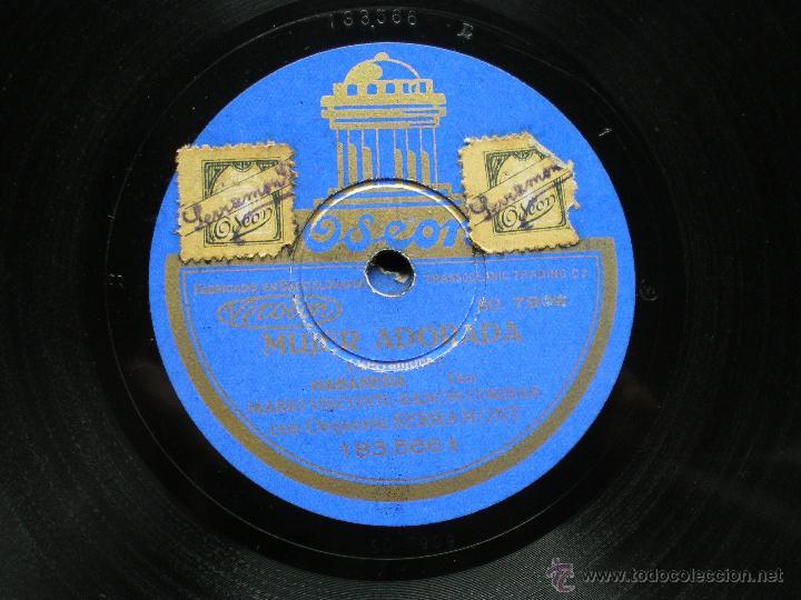Discos de pizarra: PIZARRA. MARIO VISCONTI/ RAMÓN CORIBAS. NIÑA HECHICERA/ MUJER ADORADA. pepeto - Foto 2 - 41375753