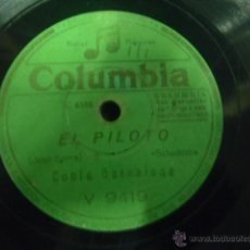 Discos de pizarra: DISCO DE PIZARRA COBLA BARCELONA LA CIGARRERA X. Lote 41385557