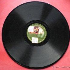 Discos de pizarra: PIZARRA / EUREKA SUGRAÑES Y CLARA MARCHA MILITAR - LOS BOYS PEPETO. Lote 41402567