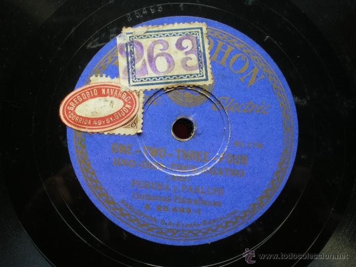 Discos de pizarra: PIZARRA / DREAMY WAIKIKI - ONE TWO THREE FOUR PERRERA 25.493 pepeto - Foto 3 - 41422950