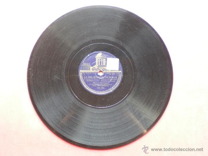 PIZARRA / LA DEL MANOJO DE ROSAS MARCOS REDONDO 184.366 PEPETO (Música - Discos - Pizarra - Flamenco, Canción española y Cuplé)