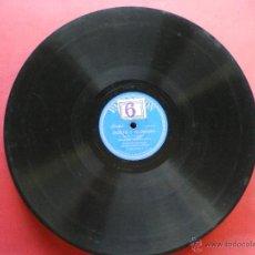 Discos de pizarra: PIZARRA / POETA Y ALDEANO OPERTURA 1º PARTE -2º PARTE 30CM P.54.518 PEPETO. Lote 41448297