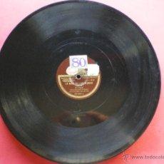 Discos de pizarra: PZARRA / LA BODA DE LUIS ALONSO 30CM 121.029 ODEON PEPETO. Lote 41448347