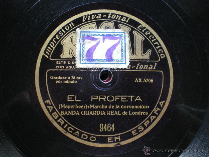 Discos de pizarra: PIZARRA / TANNHAUSER - EL PROFETA BANDA GUARDIA REAL DE LONDRES 30CM 9646 pepeto - Foto 2 - 41448421