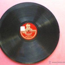 Discos de pizarra: PIZARRA / CONCERTAME Y FINAL- INTERMEDIO 30 CM 121.101 ODEON PEPETO. Lote 41448670