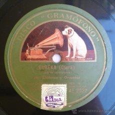 Discos de pizarra: EUREKA - JOTA DEL LOS XILOFONOS / SCHOTTISH. Lote 41548043