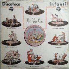 Discos de pizarra: LOS TRES OSOS (CUENTO INFANTIL) 78RPM COLUMBIA -CON CÁRATULA ORIGINAL-. Lote 41548963