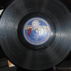 Discos de pizarra: BANDA ESPAÑOLA,DISCO DE PIZARRA. Lote 41755764