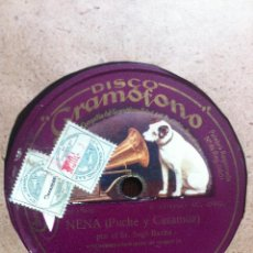 Discos de pizarra: NENA ( PUCHE Y CASAMOZ ) POR EL SEÑOR SAGI-BARBA CON ACOMP. DE ORQUESTA. FLORES ( PUCHE Y QUIRÓS ) . Lote 42163443