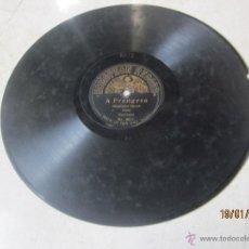 Discos de pizarra: DISCO PIZARRA - A FRANGESA - ITALIENISCHER MARSCH - COSTA ORCHESTER - HOMOPHON RECORD 8072. Lote 42232693