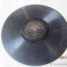 Discos de pizarra: DISCO PIZARRA DOS CARAS - LAS DOS PRINCESAS Y LA BANDA DE TROMPETAS - JOSE GAMERO - HOMOPHONE 7023. Lote 42232715