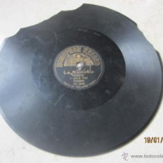 Discos de pizarra: DISCO PIZARRA - LA MASCOTTE - QUADRILLE 1 UND 2 TOUR ORCHESTER - HOMOPHON RECORD NO. 8016. Lote 42275594