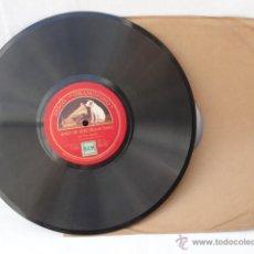 Discos de pizarra: DISCO DE PIZARRA LA VOZ DE SU AMO. APRES UN REVE DE GABRIEL FAURE Y CHANSON VILLAGEIOSE DE D.COPPER. Lote 42284908