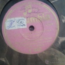 Discos de pizarra: DISCO PIZARRA EMILIA ALIAGA UNA RUBIA PELIGROSA GRAN ORQUESTA COLUMBIA . Lote 42324546