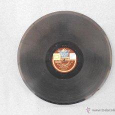 Discos de pizarra: DISCO DE PIZARRA 30 CMS. CANCION DEL PLATERO Y CANTO A MURCIA. Lote 42328470