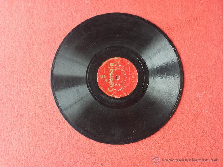 Discos de pizarra: Disco de pizarra Columbia Ramon Evaristo y su orquesta - Foto 3 - 42334824