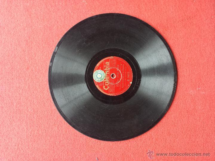 Discos de pizarra: Disco de pizarra Columbia Ramon Evaristo y su orquesta - Foto 4 - 42334824