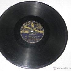 Discos de pizarra: DISCO PIZARRA DE LA GARDE REPUBLICAINE, LA SCHOTTISCH DES PRISEURS, OLLE, OLLE, 78 RPM. Lote 42344278