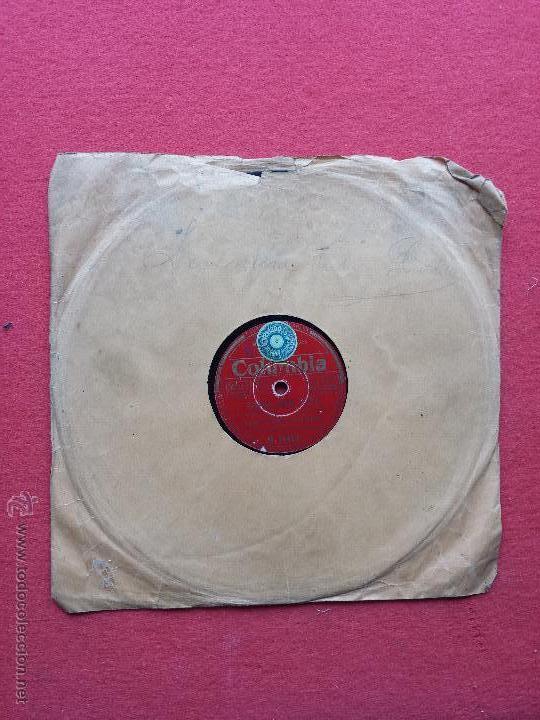 DISCO DE PIZARRA COLUMBIA RAMON EVARISTO Y SU ORQUESTA (Música - Discos - Pizarra - Flamenco, Canción española y Cuplé)