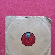 Discos de pizarra: DISCO DE PIZARRA COLUMBIA RAMON EVARISTO Y SU ORQUESTA. Lote 42334824