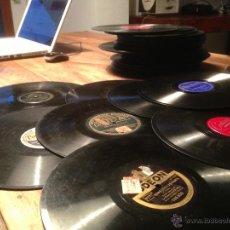 Discos de pizarra: LOTE DE 70 DISCOS DE PIZARRA - JAZZ, RAGTIME, CUBANA, HAWAIANA - EN PERFECTO ESTADO. Lote 42602988