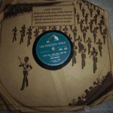 Discos para gramofone: ELVIS PRESLEY,DISCO DE PIZARRA,BUEN ESTADO. Lote 42671069