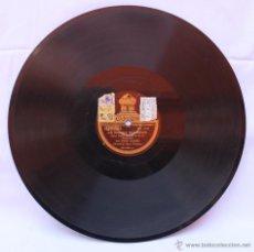 Discos de pizarra: DISCO PARA GRAMOFONO LA PICARA MOLINERA - DISCO ODEON. Lote 42977478