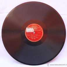 Discos de pizarra: DISCO PARA GRAMOFONO MARINA – MARCOS REDONDO Y CORO DISCO REGAL. Lote 42977806