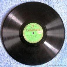 Discos de pizarra: DISCO 78 RPM PIZARRA. CARLOTITA BILBAO: MI BARCO SE HA IDO A PIQUE (CORRIDO HUMOR). YAMBALL (FOX-L).. Lote 43100142