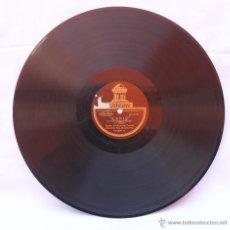 Discos de pizarra: DISCO PARA GRAMOFONO CADIZ (CHUECA Y VALVERDE DURÁN) 1ª Y 2ª PARTE. Lote 43221696