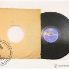 Discos de pizarra: DISCO DE PIZARRA / PIEDRA - ORQUÍDEAS A LA LUZ DE LA LUNA - VOLANDO HACIA RÍO DE JANEIRO - ODEÓN. Lote 43330659