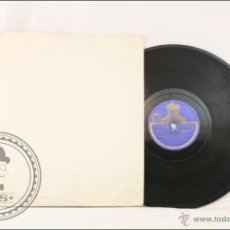 Discos de pizarra: DISCO DE PIZARRA / PIEDRA - VALS DE LAS SOMBRAS - PELÍCULA VAMPIRESAS - ODEÓN - ESPAÑA. Lote 43330686