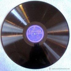 Dischi in gommalacca: DISCO 78 RPM PIZARRA - MANON. GEORGES THILL TENOR DE L'OPERA, ORCHESTRE DEL L'OPERA-COMIQUE. 30 CMS. Lote 43362917