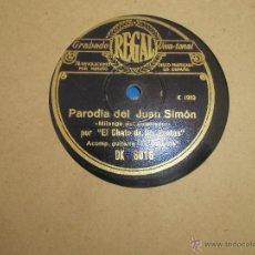 Discos de pizarra: FLAMENCO,CHATO DE LAS VENTAS. Lote 43381627