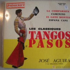Discos de pizarra: MAGNIFICO SINGLE DE - JOSE - AGUIRA -. Lote 43410392