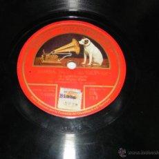 Discos de pizarra: DISCO DE PIZARRA AMAPOLA (J M LACALLE), BIMBA NON T'AVICINAR, POR MIGUEL FLETA, ED.LA VOZ DE SU AMO. Lote 48912434