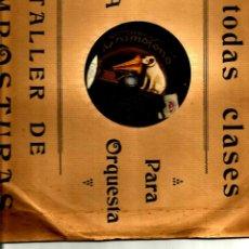 Discos de pizarra: CARMEN FLORES: LA CELOSA + ¿GUAPA O FEA?. Lote 43525498