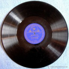 Dischi in gommalacca: DISCO 78 RPM PIZARRA - MARTHA (M'APPARI ), LA GIOCONDA (CIELO E MAR)-OPERA, ALESSANDRO BONCI, TENOR.. Lote 43569757