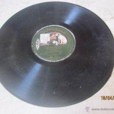 Discos de pizarra: DISCO PIZARRA - LA MONTERIA - RAMOS MARTIN Y GUERRERO - DISCO GRAMOFONO AE 894. Lote 43687647