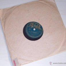 Discos de pizarra: DISCO PIZARRA REGAL. SI ME ABANDONAS (HIGH NOON). FLAMENCO. FRANKIE LAINE.. Lote 43697493