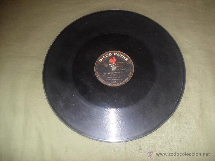 Discos de pizarra: MARIA GALVANY, DOS ARIAS . DISCO PATHE - Foto 2 - 43697728